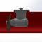 propulsor de proa / para buque / hidráulico