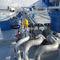 calentador de aceite / vertical / de fuel pesado / para buque