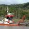 barco profesional draga de corte y succión