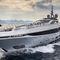 megayate de crucero / con hard-top / de aluminio / con 5 camarotes