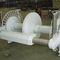 chigre para buque pesquero / de palangre / con motor hidráulico / tambor doble