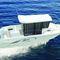barco de motor de pesca-paseo fueraborda / con caseta de timón / 7 personas máx. / con cabina