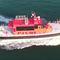 barco profesional embarcación piloto / intraborda / de aluminio / embarcación neumática semirrígida