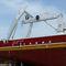 grúa de mástil / para buque / sobre muelle flotante / para yate