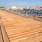 pantalán flotante / de amarra / para puerto deportivo / madera