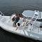 embarcación neumática fueraborda / RIB / con consola central / de travesía