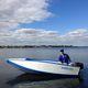 bote fueraborda / plegable / open / de pesca