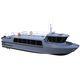 barco de búsqueda y rescate / barco de transporte de tripulación / embarcación de apoyo al buceo / intraborda