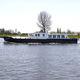 barco cabinado intraborda / con caseta de timón / fluvial