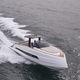 barco cabinado intraborda / diésel / bimotor / con consola central