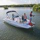deck-boat fueraborda / de wakeboard / de esquí acuático / 10 personas máx.