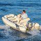 embarcación neumática fueraborda / RIB / con consola lateral / embarcación auxiliar para mega-yate