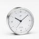 reloj analógico / de cromo
