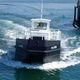 barco profesional embarcación de recuperación de hidrocarburos / intraborda