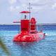 barco de visión submarina / intraborda