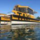 barco profesional barco turístico / embarcación de apoyo al buceo / barco de transporte logístico / barco de trabajo