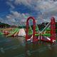 juego acuático parque / inflable / flotante