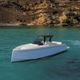 barco cabinado intraborda / diésel / bimotor / de desplazamiento