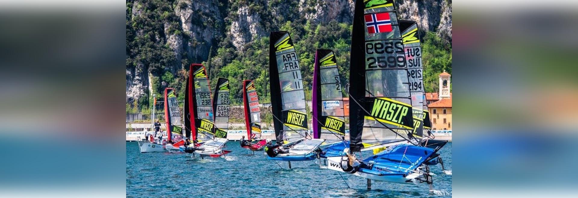 El Campeonato de Europa de la WASZP se dirige a una flota récord