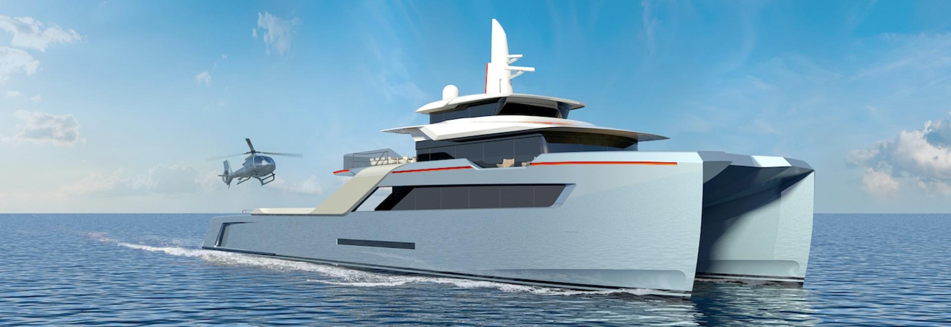 Echo Yachts lanza el diseño de una nave de apoyo humanitario