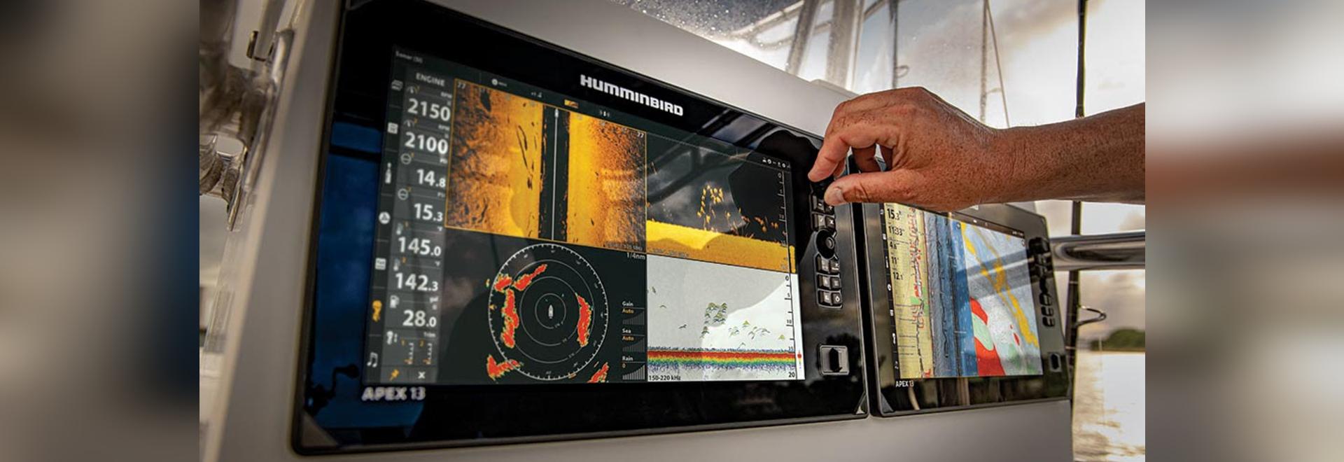 Humminbird presenta la serie APEX: Un MFD Premium con una pantalla Full-HD, un sonar de primera clase y opciones de red