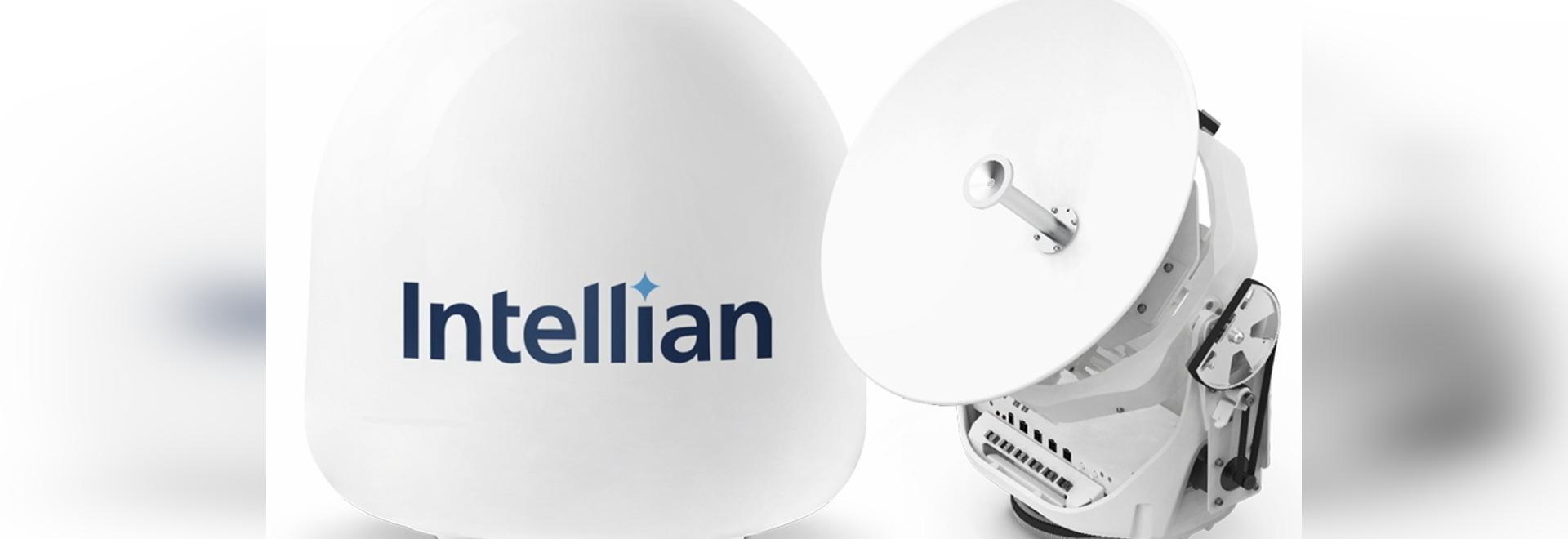 La nueva e innovadora antena v45C de Intellian lleva el VSAT a las embarcaciones más pequeñas