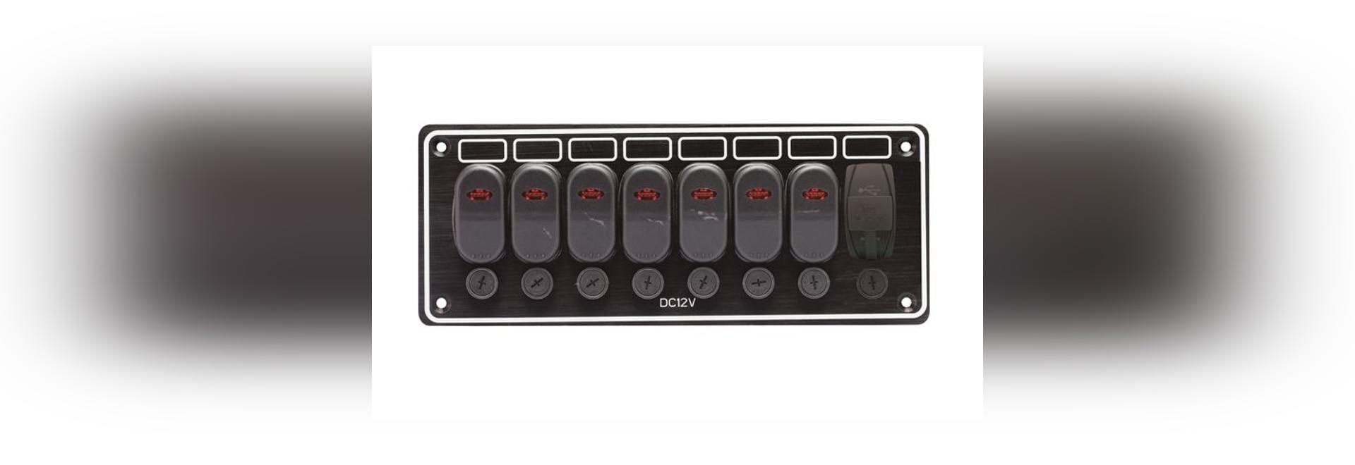NUEVO: el panel del interruptor del barco por EMPRESAS MUNDIALES LTD. del AAA