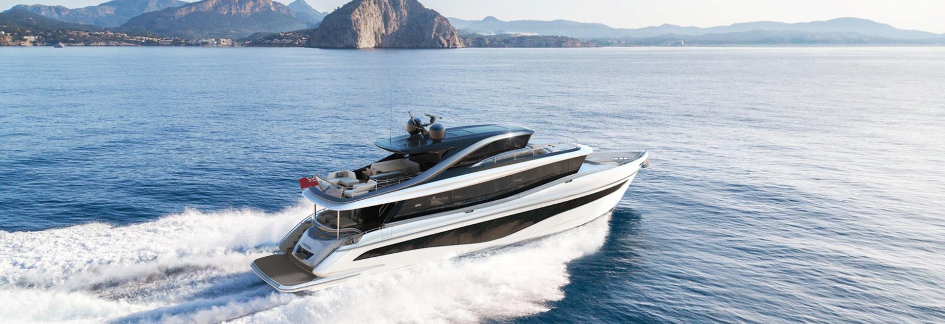 El Princess Yachts revela un superyate de 25 metros X80