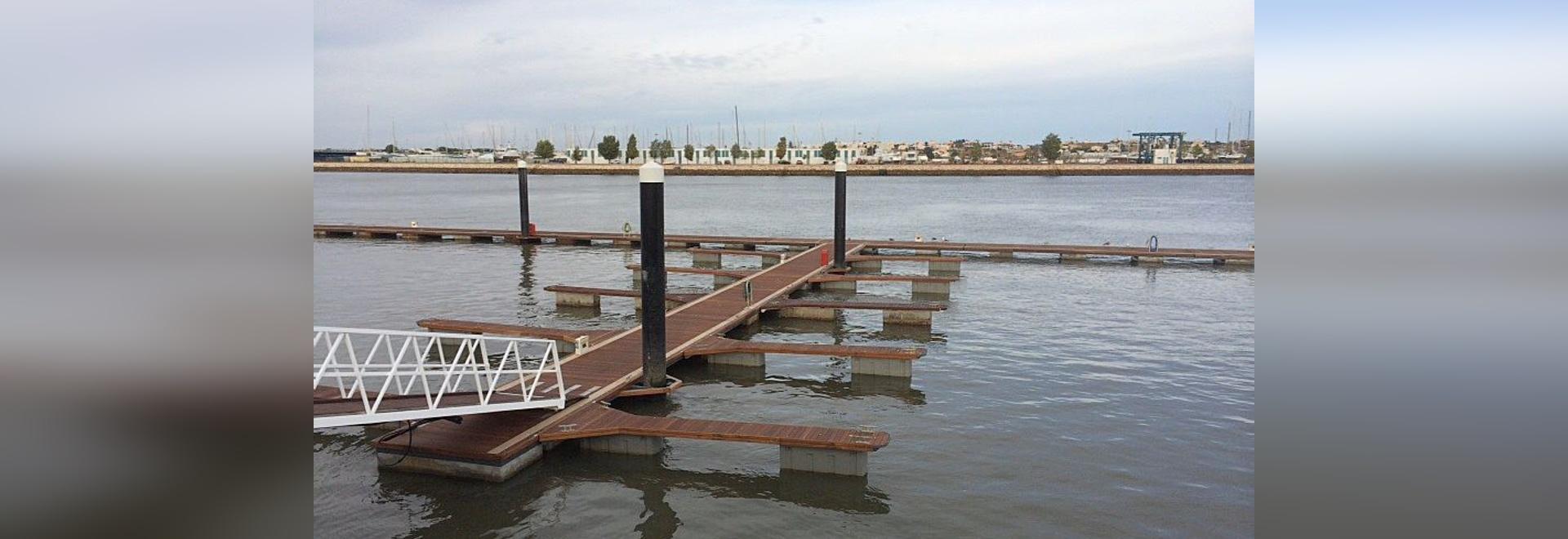 Rehabilitación de la Rampa Ro-Ro y del Muelle Bartolomeu Dias   en el Puerto de Portimão