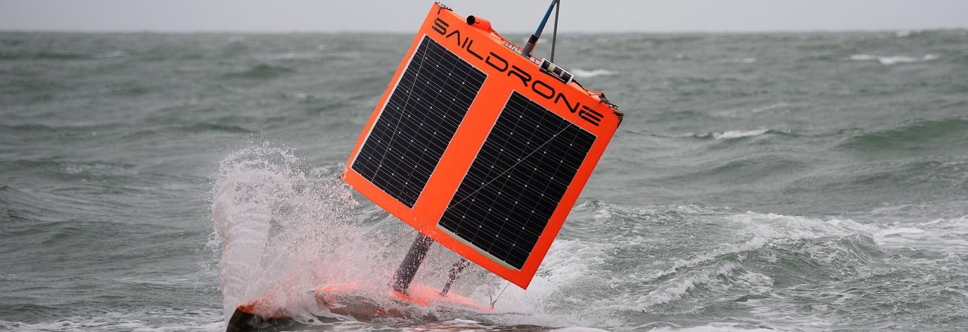 Saildrone completa la primera circunnavegación autónoma de la Antártida