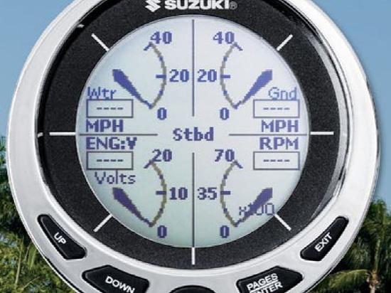 NUEVO: indicador del calibrador del barco de Suzuki Marine