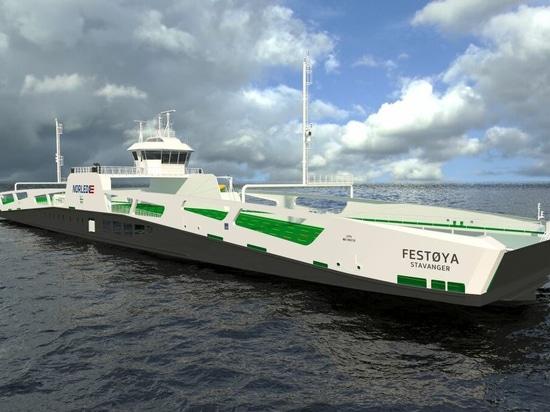 Norled: entra en el cuarteto del ferry híbrido a batería