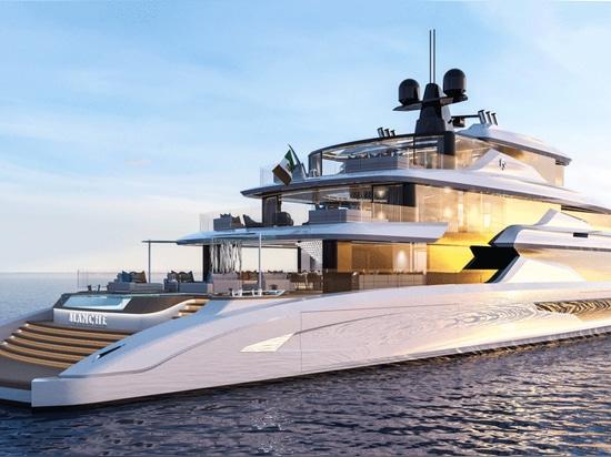Fincantieri Yachts revela el Superyacht Concept Blanche de 70 metros