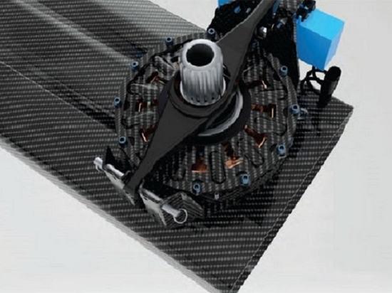 no, it's no es un embrague de superbicicleta de nueva generación; it's el embrague de carbono de un pedestal de molino AC75, que permite cambios de marcha verdaderamente sin problemas. Desarrollado...