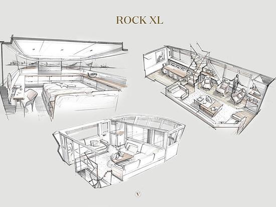 El yate de 33 metros ROCK XL se suma a la serie ROCK de Vripack
