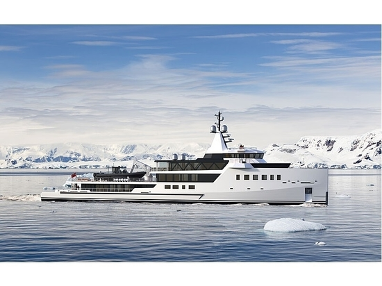 Damen Yachting firma un nuevo yate explorador híbrido de 72 metros