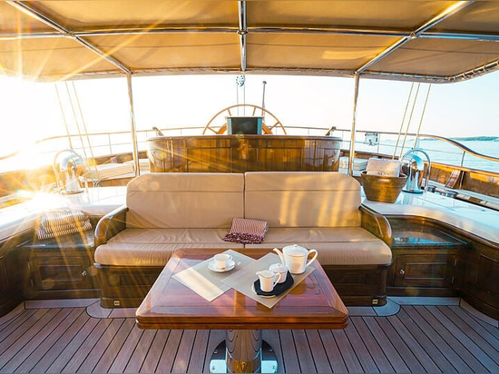 Se vende el velero Mikhail S. Vorontsov de 65 metros