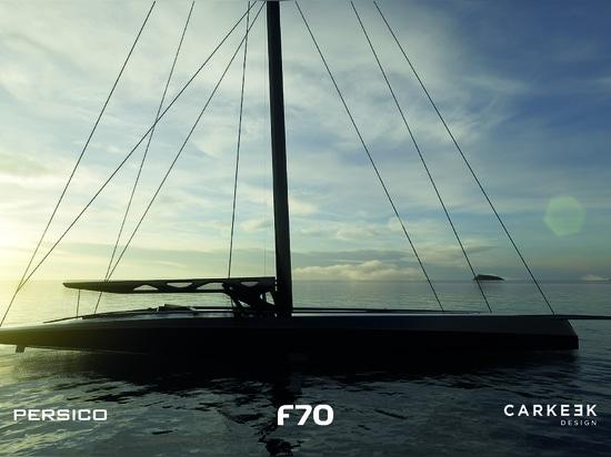 Persico Marine y Carkeek Design Partners presentan el F 70 full-foiling day sailer-racer