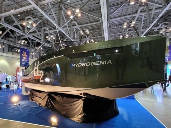 Se presenta el primer barco de hidrógeno comercializado en Corea del Sur