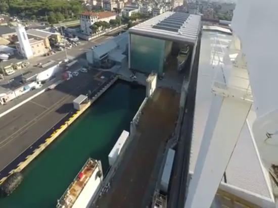 Video: El Superyate Almirante Geco de 55 metros fue lanzado