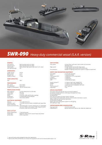 SWR-090 (PDS.SWR-090.03) S.A.R. Version