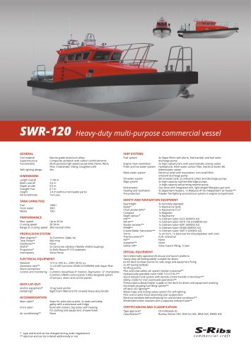 SWR-120 (PDS.SWR-120.02) MULTI-PURPOSE Version