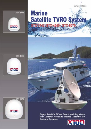Marine Satellite TVRO System