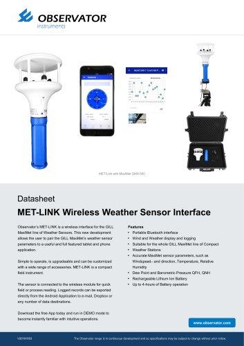 Brochure MET-LINK