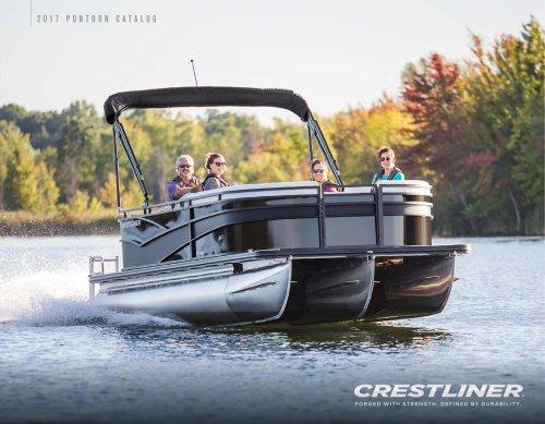 Crestliner 2017 Pontoon Brochure