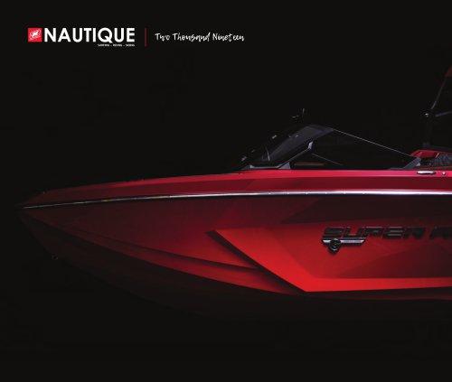 2019 Nautique Boat Company brochure
