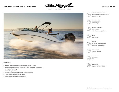 SunSport 230 OB