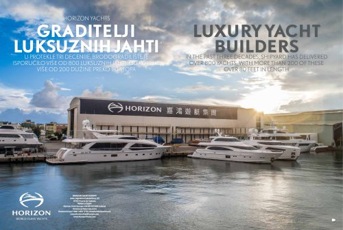LUXURY YACHT BUILDERS