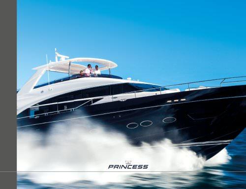 Princess Yachts 2014-15