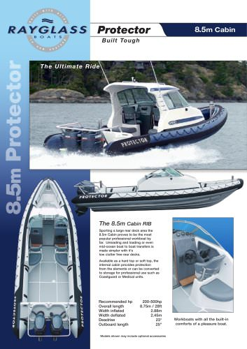 PROTECTOR 8.5 CABIN